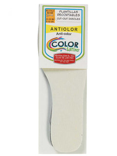 LEATHER CLEANING SUPPLIES COLOR LATINO PU2449 ODOR PREVENTION INSOLE