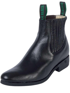 ANKLE BOOT LA BARCA 604 LEATHER BLACK