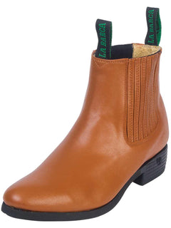ANKLE BOOT LA BARCA 604 LEATHER HONEY
