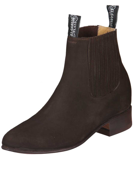 ANKLE BOOT EL CANELO 1 NUBUCK LEATHER BROWN