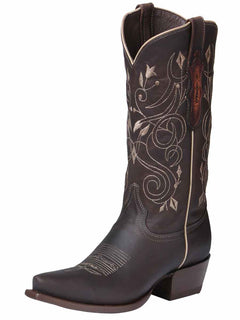 COWBOY BOOT EDICION LIMITADA EL GENERAL EDL-RD-8+05149CFTLI-5850 CRAZY HORSE LEATHER CHOCO