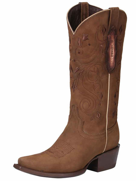 COWBOY BOOT EDICION LIMITADA EL GENERAL EDL-RD-5 CRAZY HORSE LEATHER CAMEL