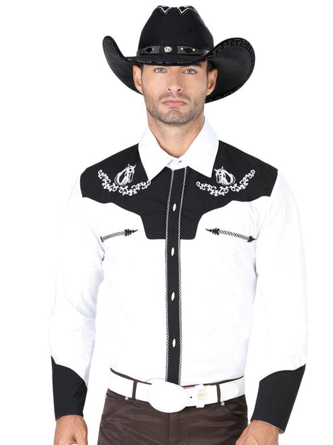CHARRO SHIRT EL GENERAL CVAP1021 65% POLYESTER35% COTTON WHITE
