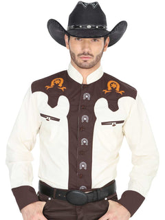 CHARRO SHIRT EL GENERAL CVAP1022 65% POLYESTER35% COTTON BEIGE