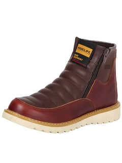ANKLE BOOT PROCLIFF PROTECTION 0301 PULL UP CUERO VINO