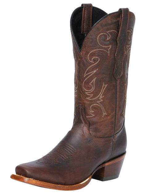 COWBOY BOOT EDICION LIMITADA EL GENERAL EDL-03-17 LEATHER OAK