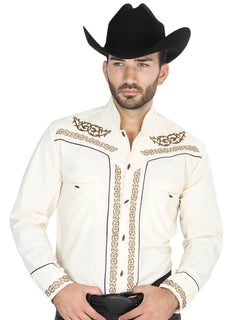 CHARRO SHIRT EL GENERAL CHC060 65% POLYESTER35% COTTON BEIGE