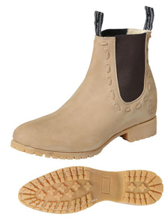 ANKLE BOOT EL CANELO 108 NUBUCK LEATHER SAND