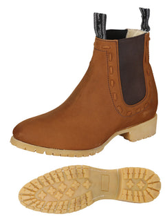 ANKLE BOOT EL CANELO 108 NUBUCK LEATHER TOPO