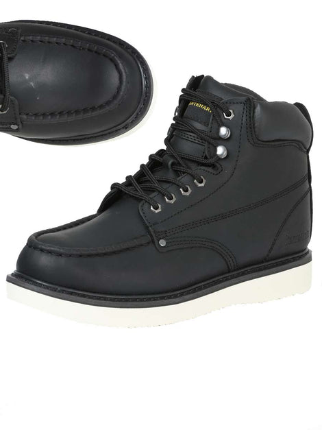 ANKLE BOOT CENTENARIO BC-G002 LEATHER BLACK