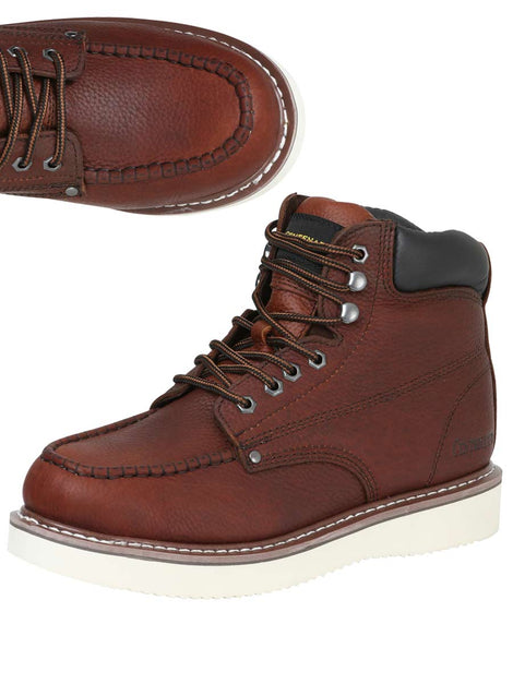ANKLE BOOT CENTENARIO BC-G002 LEATHER CHERRY