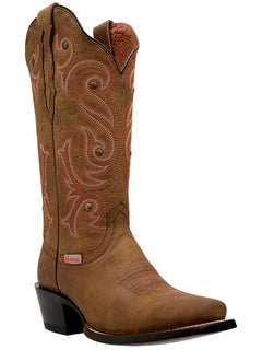 COWBOY BOOT RIO GRANDE LS-20 SANDY CRAZY HORSE HONEY