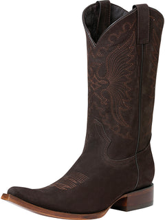 COWBOY BOOT EDICION LIMITADA EL GENERAL SR-VAQ32 NUBUCK LEATHER BROWN