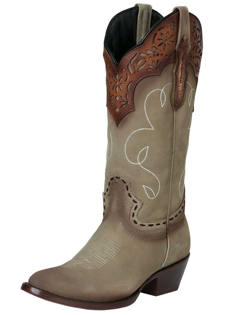 COWBOY BOOT EDICION LIMITADA EL GENERAL SR-DM-102 NUBUCK LEATHER SAND