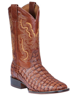 SQUARE TOE BOOT JAR BOOT'S 858 COCO ARG SHEDRON