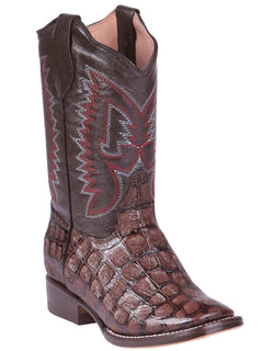 SQUARE TOE BOOT JAR BOOT'S 2358 COCO ARG BROWN