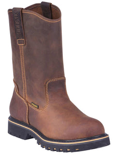 WORK BOOT BUFFALO & BULL 110 CRAZY HORSE LEATHER TANG
