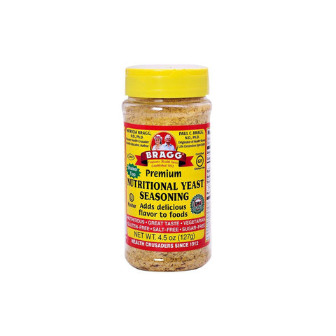 BRAGG  NUTRITIONAL YEAST - Braggs | Energize Health