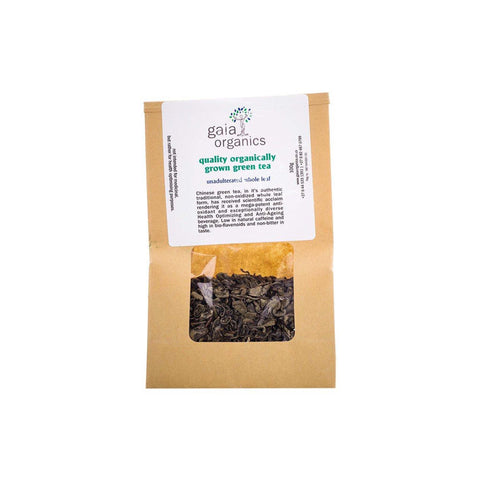 GAIA GREEN TEA LOOSE - Gaia Organics | Energize Health