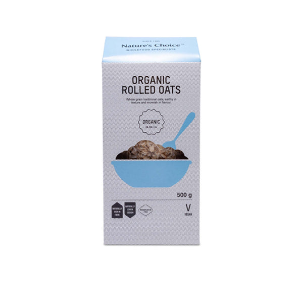 Nature's Choice Organic Rolled Oats