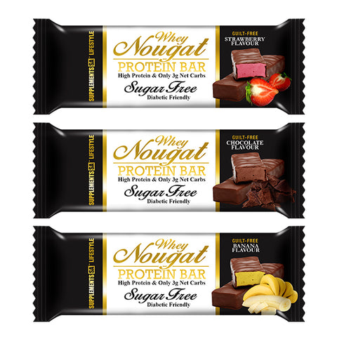 SUPPLEMENTS SA WHEY NOUGAT BAR - Supplements SA | Energize Health