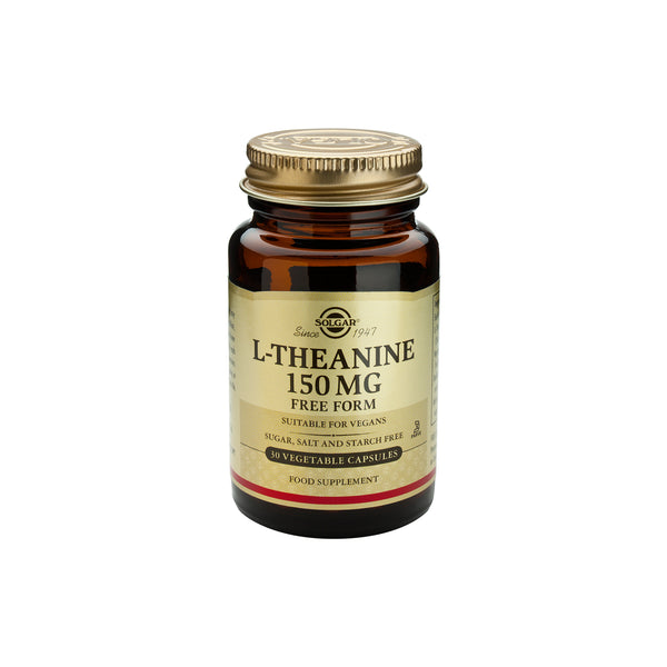 SOLGAR L-THEANINE 150MG - Solgar | Energize Health