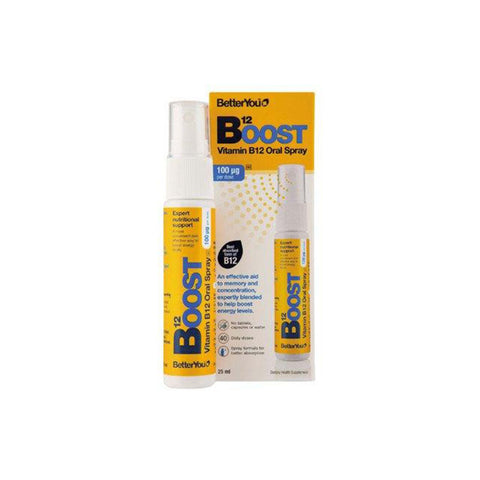 BETTER YOU VIT B12 ORAL SPRAY 100mcg - BetterYou | Energize Health