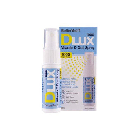 BETTER YOU DLUX VIT D3 ORAL SPRAY 1000IU - BetterYou | Energize Health