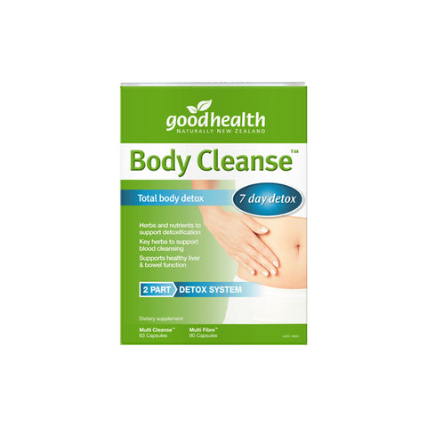 GOOD HEALTH TOTAL BODY CLEANSE DETOX PACK - Good Health Products (Pty) Ltd | Energize Health