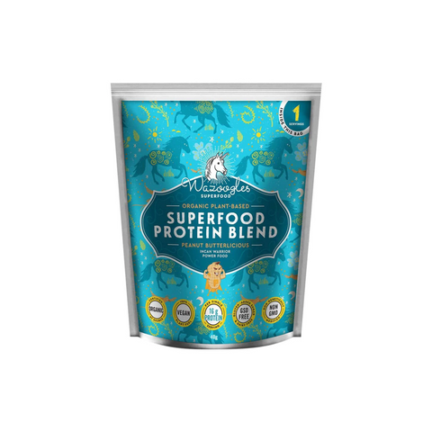 Wazoogles Organic Superfood Protein Blend Peanut Butterlicious