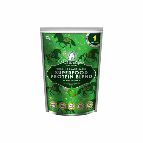 Wazoogles Organic Superfood Protein Blend Plant Power