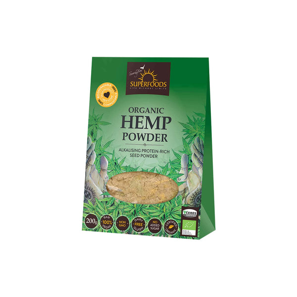 SUPERFOODS HEMP SEED POWDER - Superfoods | Energize Health