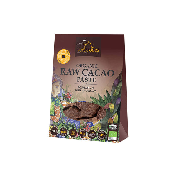 SUPERFOODS CACAO PASTE - Superfoods | Energize Health