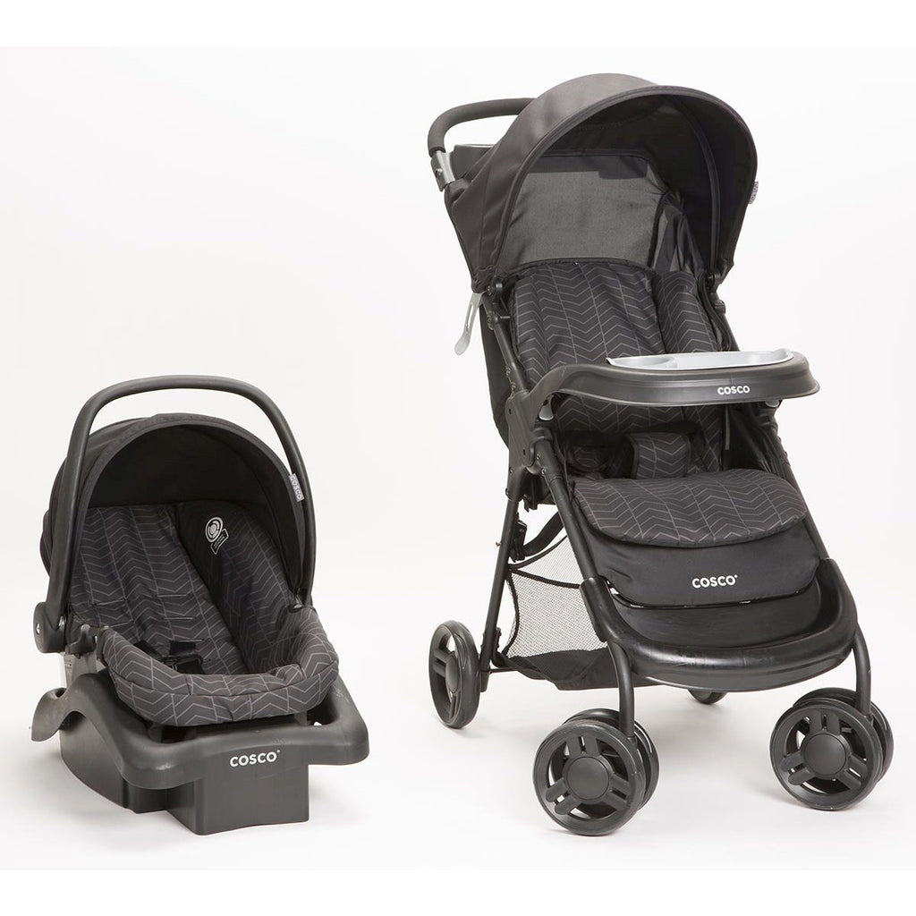 Cosco Lift & Stroll Travel System - Black Arrow