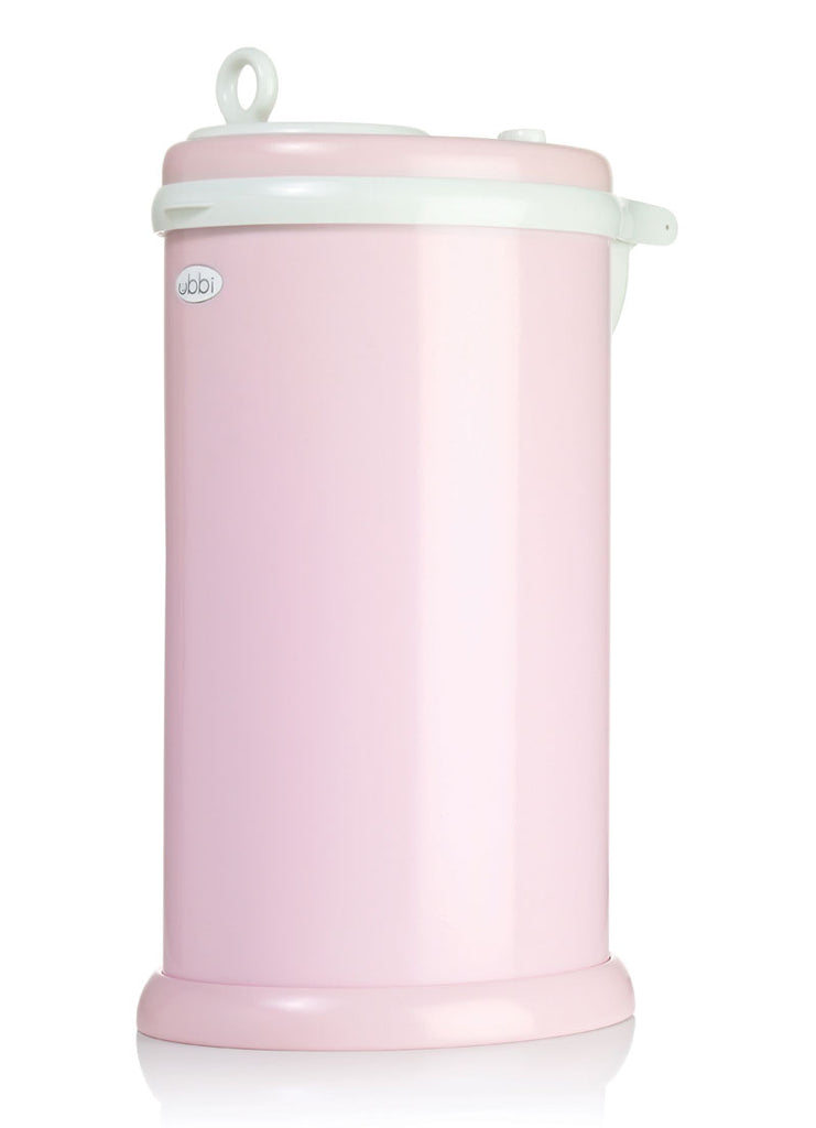 Ubbi Stainless Steel Diaper Pail - Light Pink