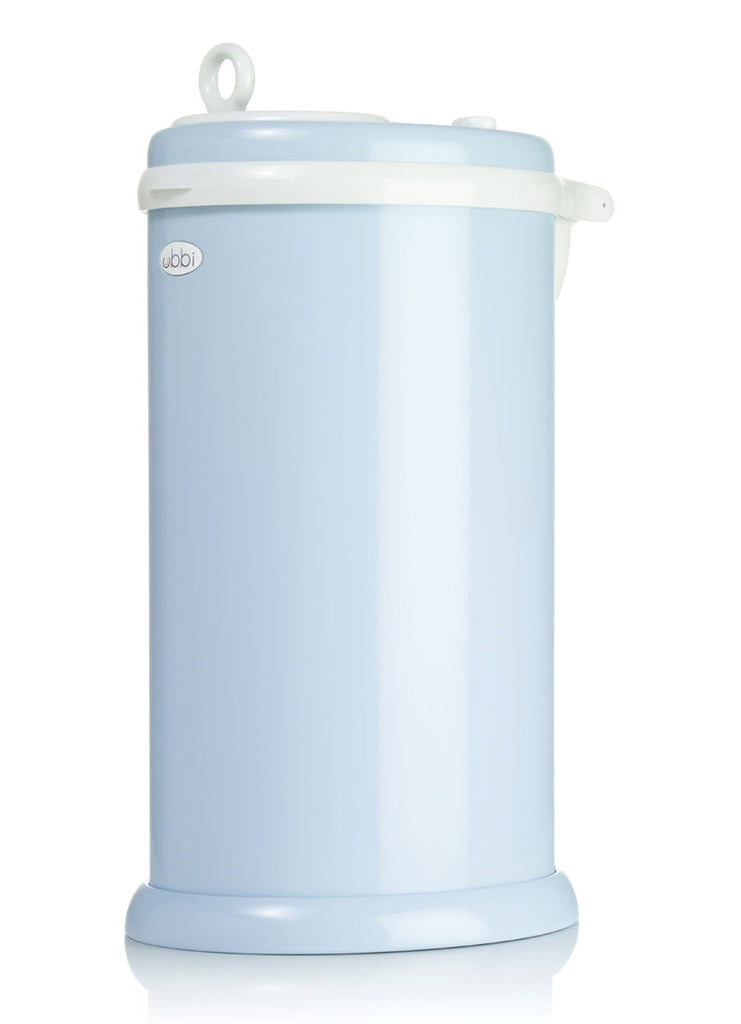 Ubbi Stainless Steel Diaper Pail - Light Blue