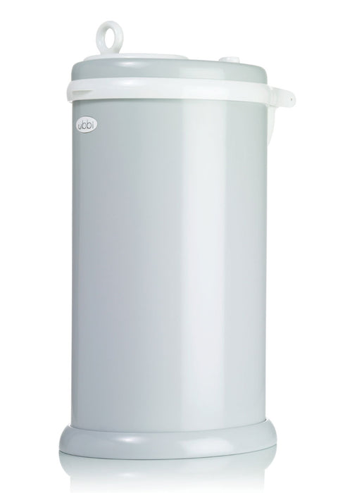 Ubbi Stainless Steel Diaper Pail - Grey