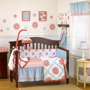 Cocal 4 Piece Bedding Set - Dahlia
