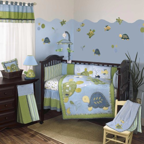 Cocalo 8-Piece Bedding Set - Turtle Reef