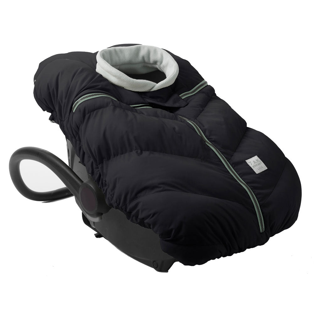 7 AM Enfant Cocoon Car Seat Cover - Black