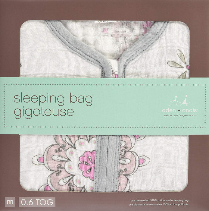 Aden Anais Classic Sleeping Bag Medium - For The Birds - Medallion