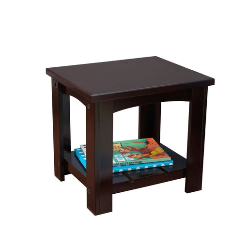 Kidkraft Addison Toddler Side Table Espresso