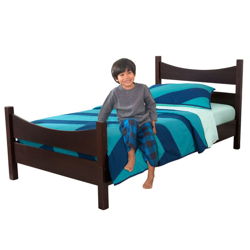 Kidkraft Addison Twin Size Bed Espresso