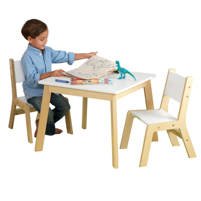 Kidkraft Modern Table 2 Chair Set White