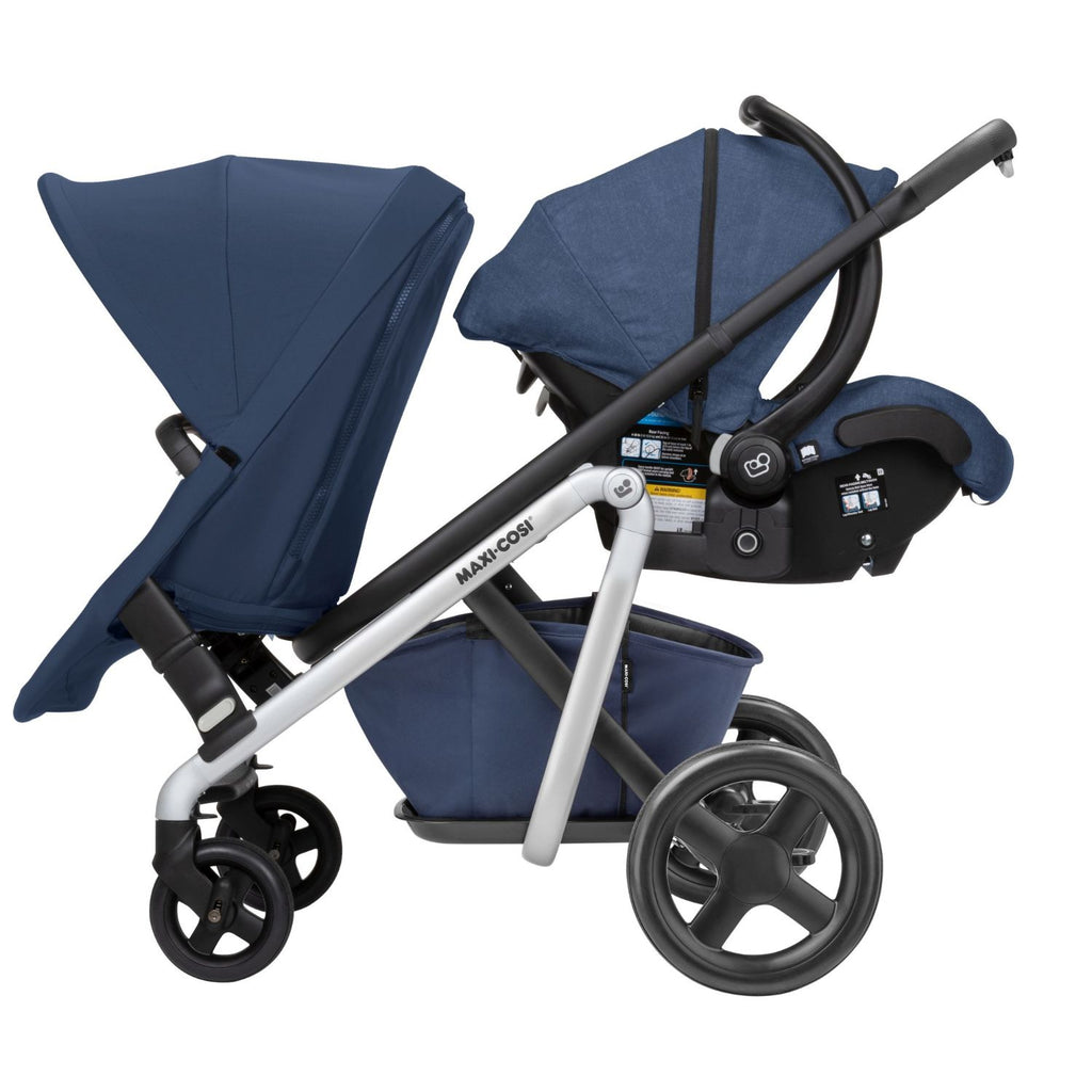 Maxi Cosi Lila Stroller Duo Kit - Nomad Blue