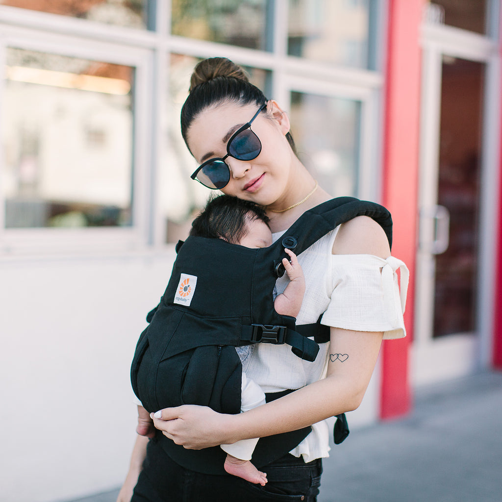 ErgoBaby Omni 360 Baby Carrier - Pure Black