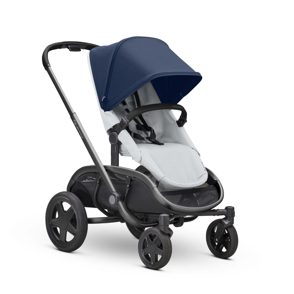 Quinny Hubb Stroller - Navy On Gray