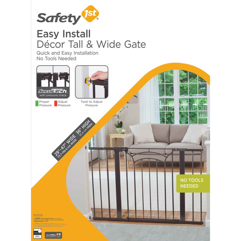 Safety 1st Easy Install Décor Metal Gate