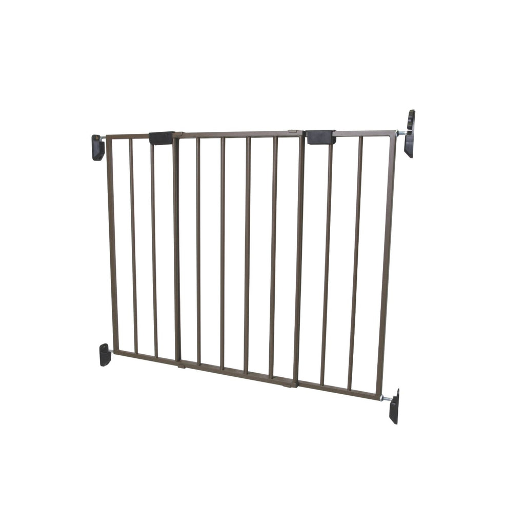 Safety 1st Top of Stairs Metal Décor Swing Gate- Bronze
