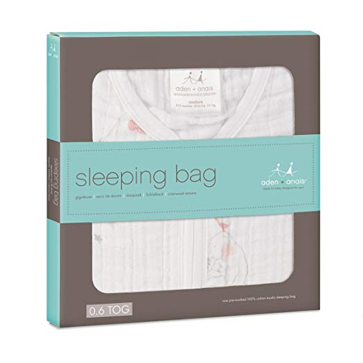 Aden Anais Classic Sleeping Bag Medium - Lovely - Ellie